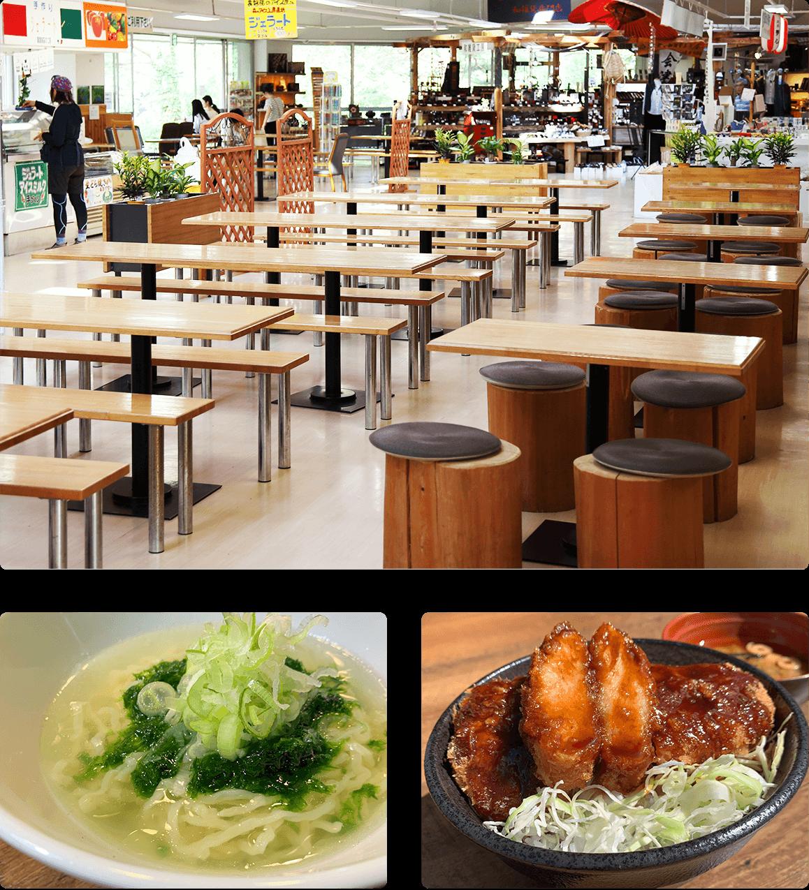 軽食スペース / 食堂 / レストラン / CREMIA / 桧原湖カレー